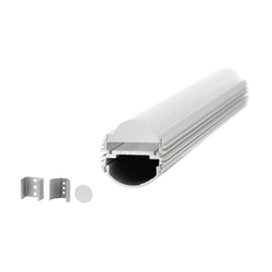 Aluminium Profiles 26.0 mm round | LED wall-mounted lights | UNEX