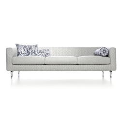 boutique delft grey jumper triple seater | Divani | moooi