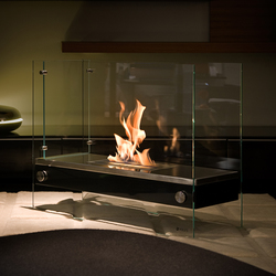 Divider black | Ventless ethanol fires | Vauni Fire