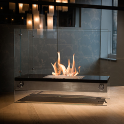 Divider granite | Ventless ethanol fires | Vauni Fire