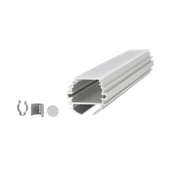 Aluminium Profiles 30.0 mm round | LED wall-mounted lights | UNEX