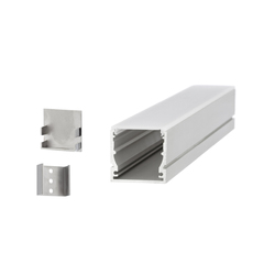 Aluminium Profiles 30.0 x 28.0 mm | LED wall-mounted lights | UNEX