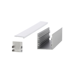Aluminium Profiles 30.0 x 30.0 mm | LED wall-mounted lights | UNEX