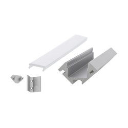 Aluminium Profiles 45° Corner profile | Lámparas de pared LED | UNEX