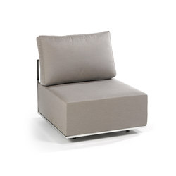 Suite center module | Garden armchairs | Fischer Möbel