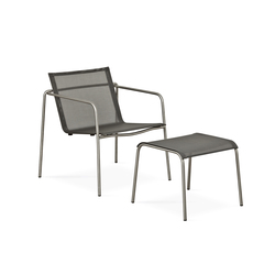 Taku lounge chair with footrest | Garden armchairs | Fischer Möbel