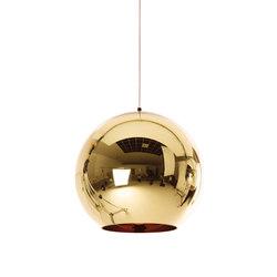 Copper Bronze Pendant 45cm | General lighting | Tom Dixon