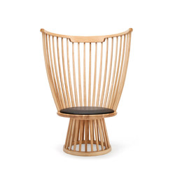 Fan Chair Natural | Loungesessel | Tom Dixon