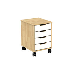 Otto modular cabinet OT41L | Kids storage furniture | Woodi