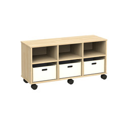 Otto modular cabinet OT43AAA | Kids storage furniture | Woodi