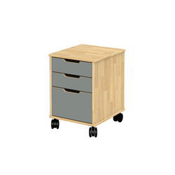 Otto modular cabinet OT41LB | Kids storage furniture | Woodi