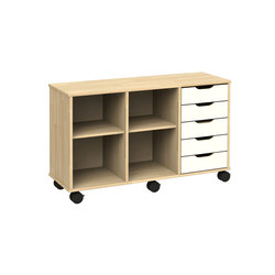 Otto modular cabinet OT53AAL | Kids storage furniture | Woodi