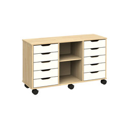 Otto modular cabinet OT53LAL | Kids storage furniture | Woodi
