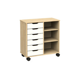 Otto modular cabinet OT62LA | Kids storage furniture | Woodi
