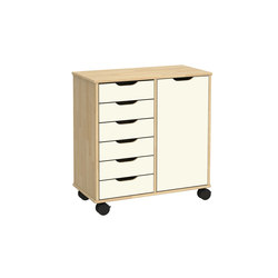 Otto modular cabinet OT62LO | Kids storage furniture | Woodi