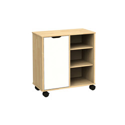 Otto modular cabinet OT62OA | Kids storage furniture | Woodi