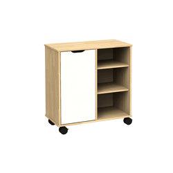 Otto modular cabinet OT62OA | Kids storage | Woodi