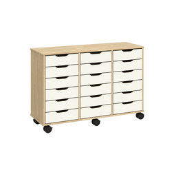 Otto modular cabinet OT63LLL | Kids storage furniture | Woodi