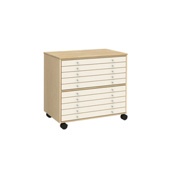 Drawer for sketches K620 | Kids storage | Woodi