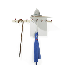 Rechenbeispiel hat rack | Hook rails | Moormann