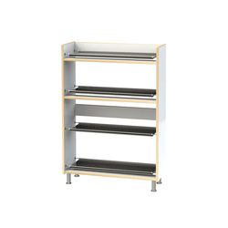 Shoe rack ET104-90 | Cloakrooms | Woodi