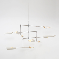 Torroja Mobile No 429 | Suspended lights | David Weeks Studio
