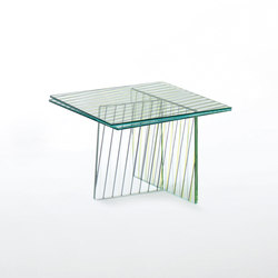 Crossing | Side tables | Glas Italia