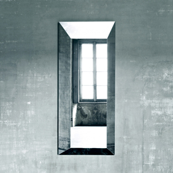 Leon Battista | Spiegel | Glas Italia