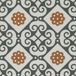 Frame Majolica Floor Tile | Ceramic tiles | Refin