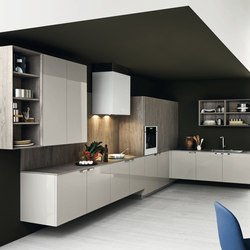 Ariel | Composition 2 | Fitted kitchens | Cesar Arredamenti