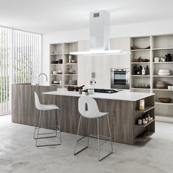 Ariel | Composition 3 | Fitted kitchens | Cesar Arredamenti