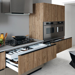 Ariel | Composition 5 | Fitted kitchens | Cesar Arredamenti