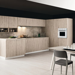 Ariel | Composition 6 | Fitted kitchens | Cesar Arredamenti