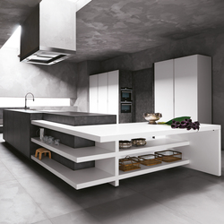 Elle | Composition 1 | Fitted kitchens | Cesar Arredamenti