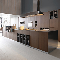 kalea | composition 1 - fitted kitchens from cesar arredamenti