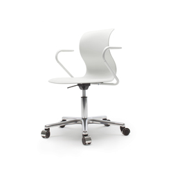 Pro 5 Star Base Alu Armrests | Office chairs | Flötotto