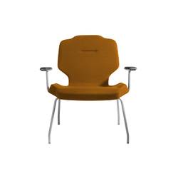 RH Lounge with armrests | Sillas de visita | Flokk