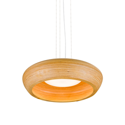 Kulho Medi plywood | Suspended lights | Blond Belysning