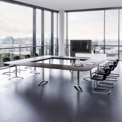 Talk conference table | Tables modulaires | RENZ