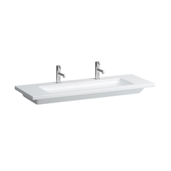 living square | Countertop double washbasin | Wash basins | Laufen