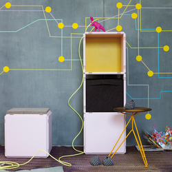 q18_children_light pink | Kids storage furniture | qubing.de