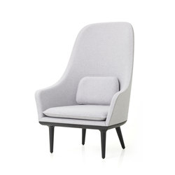 Lunar Highback Chair | Lounge chairs | Stellar Works