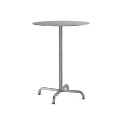 20-06™ Round bar table | Tavoli bar | emeco