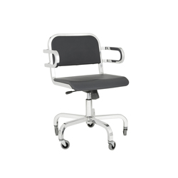 Nine-0™ Swivel armchair | Office chairs | emeco
