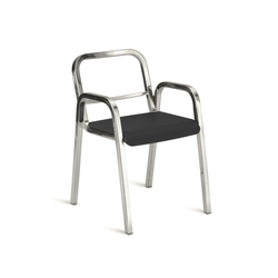 Nine-0™ Stacking armchair | Restaurant chairs | emeco