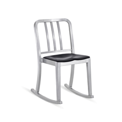 Heritage Rocking chair seat pad | Mecedoras | emeco