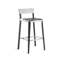Lancaster Barstool seat pad | Bar stools | emeco