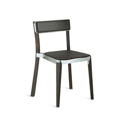 Lancaster Stacking chair seat pad | Chaises de restaurant | emeco
