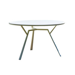 Radice Quadra table round | Dining tables | Fast