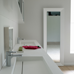 Framed mirror rectangular | Wandspiegel | CODIS BATH